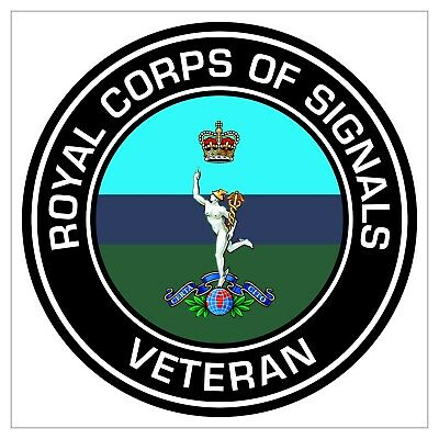£2.49 • Buy Royal Corps Of Signals Veterans Sticker