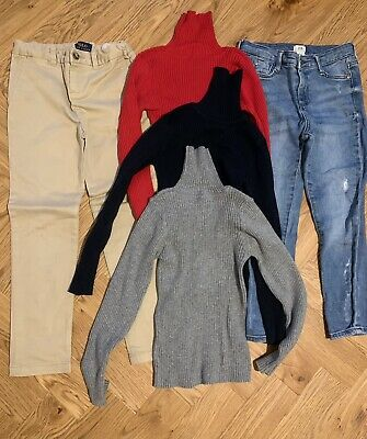 £12 • Buy Bundle Of Age 6 Girls Clothes River Island Jeans Ralph Lauren Chinos Next Polo T