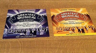 £1.99 • Buy Greatest Musical Classics - Vol's 1 & 2 - Sunday Express Promo Cd's-New. REDUCED