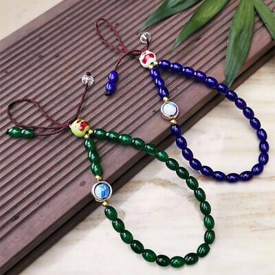 £3.66 • Buy Mobile Phone Chain Mobile Phone Straps Cell Phone Lanyard Lucky Cat Bead