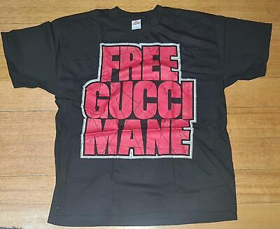 AU39.99 • Buy Gucci Mane Free Gucci Mane Officially Licensed Rare Adult Unisex T-shirt