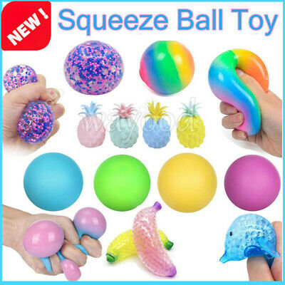 £2.32 • Buy Sensory Stress Reliever Ball Color Change Autism Anxiety Squeeze Fidget Toys