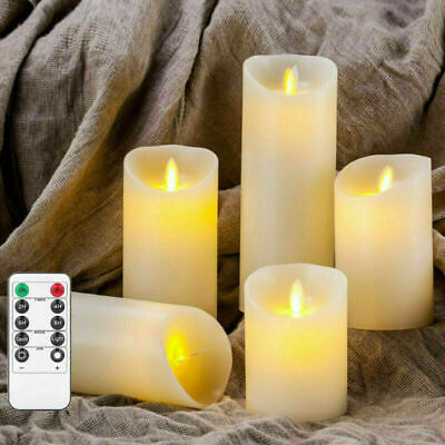 £8.57 • Buy LED Flickering Candle Lights Flameless Battery Operated + Remote Control Timer