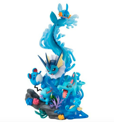 $180 • Buy MegaHouse Pokemon G.E.M.EX Series Water Type DIVE TO BLUE NEW Pocket Monster F/S