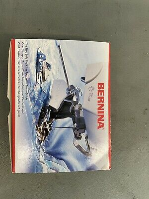 £60 • Buy Genuine Bernina Two Sole Walking Foot With Seam Guides V Fitting