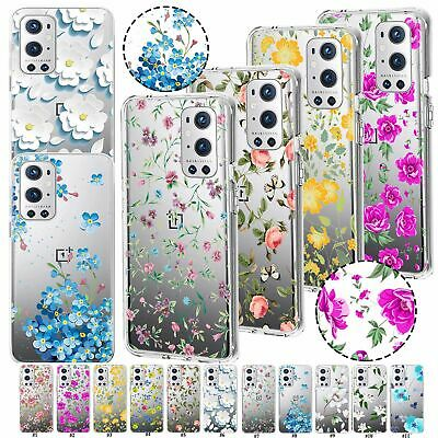 AU6.75 • Buy For OnePlus Nord CE N10 N100 N200 9 Pro 8T Pro Beautiful Flower Tpu Case Cover