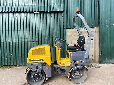 £11750 • Buy Atlas Copco Dynapac Vibrating Double Drum Roller - Only 340hours - Kubota Engine