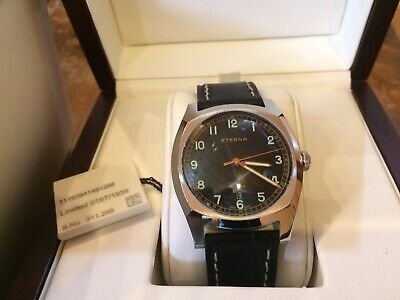 £1080 • Buy ETERNA Gents Heritage Military Watch BNIB L/E Automatic NEW Boxed Complete