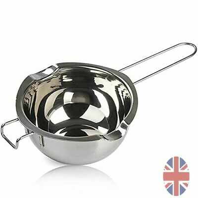£7.30 • Buy Wax Melting Pot Small 304 Stainless Steel Double Boiler Jug Candle Making 480ml