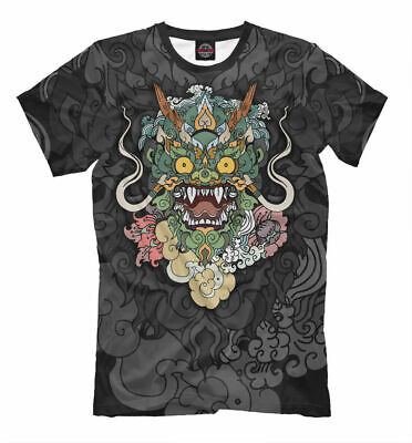 £13.01 • Buy Chinese Dragon T-shirt Monster Tatto All Over Print