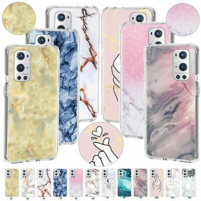 AU6.75 • Buy Bumper Marble Case Clear TPU Cover For OnePlus 9 Pro 8 Nord N100/N200/N10 CE 5G