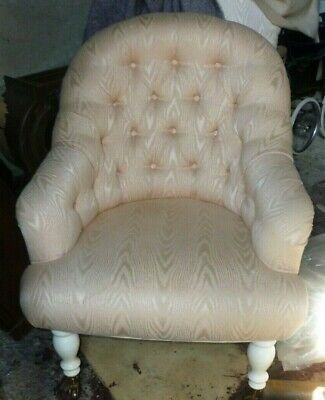 £90 • Buy Very Nice Vintage Victorian Style Upholstered Arm Chair
