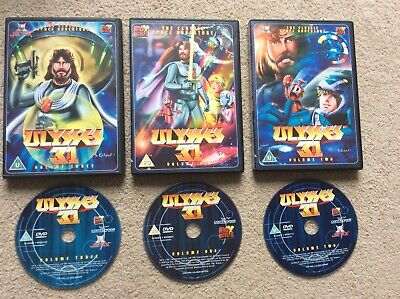 £50 • Buy Ulysses 31 - The Complete Series Collection 1-3 DVD UK Release