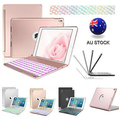 AU43.99 • Buy Smart Case With Bluetooth Keyboard Cover For IPad 5/6/7/8th Gen Air 1/2/3 Pro AU