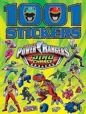 £4.80 • Buy Power Rangers Dino Charge 1001 Stickers, New, Paperback