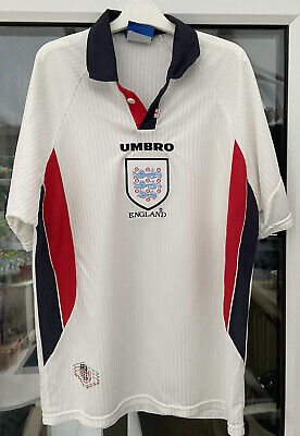 £99.99 • Buy Rare Original England Football Shirt 1998 World Cup Size Large Great Condition