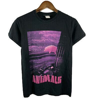 £14.62 • Buy 2017 Roger Waters Animals Tour Double Sided Small Black T Shirt Pink Floyd Band