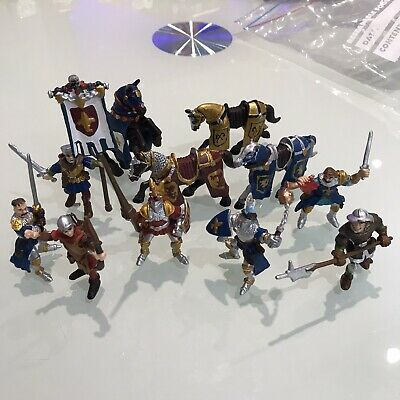 £10 • Buy PAPO Mini Knights Bundle Joblot Toy Minifigures Collectable