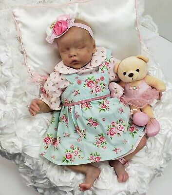 £205.23 • Buy Reborn Girl Doll Twin B By Bonnie Brown~First Edition~PRA*ISE Artist~Rooted Hair