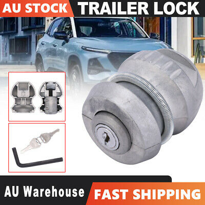 AU19.45 • Buy Insertable Trailer Coupling Hitch Lock Tow Ball Caravan Parts Tool For Security