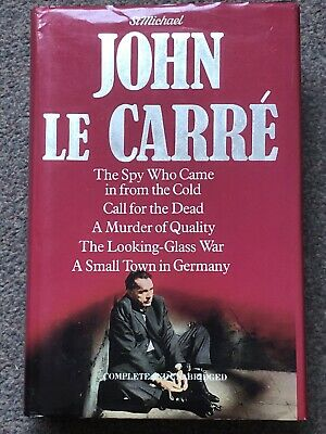 £9.99 • Buy John Le Carre X5 Hardback Book. Incl A Murder Of Quality, The Looking Glass War