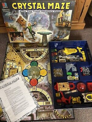 £19.99 • Buy Vintage Crystal Maze Board Game, Mb Games, 1991 Based On The Channel 4 Show