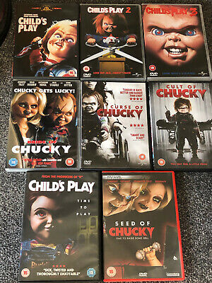£59.99 • Buy Childs Play Dvd Bundle X8 Including Original Trilogy And Remake. Chucky Films