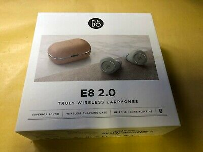 £63.95 • Buy B&O BeoPlay E8 2.0 True 1646101 Wireless In Ear Headphones Natural USED
