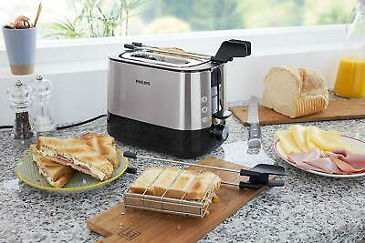 £201.51 • Buy Philips HD2639/90 Toaster Slot Extra Large Accessory For Sandwich 730 W