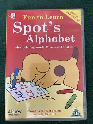 £2.49 • Buy Spot's Alphabet - Including Words, Colours And Shapes (DVD, 2005)