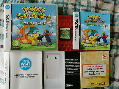 $96.20 • Buy Pokemon  Mystery Dungeon Explorers Of Sky Ds Ds Lite Dsi 2ds 3ds 100% Genuine