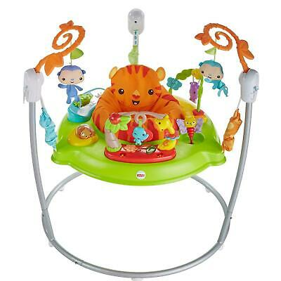 £93 • Buy Fisher-Price Roaring Rainforest Jumperoo, With Music And Lights
