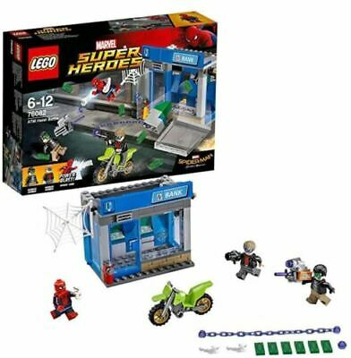 £29.99 • Buy LEGO 76082 Marvel Super Heroes Heist Battle Spider-Man, 2 Robbers - Squashed Box