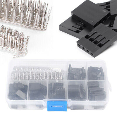 AU37.33 • Buy 310pcs 2.54mm Male Female Dupont Wire Jumper Assortment W/Header Connector Kit