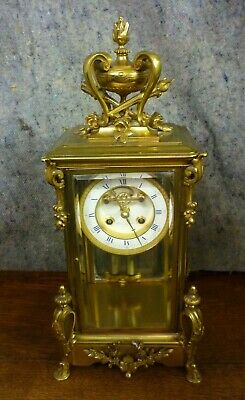 £1850 • Buy Very Fine 19th Century Ormolu Four Glass Clock With Visable Escapement