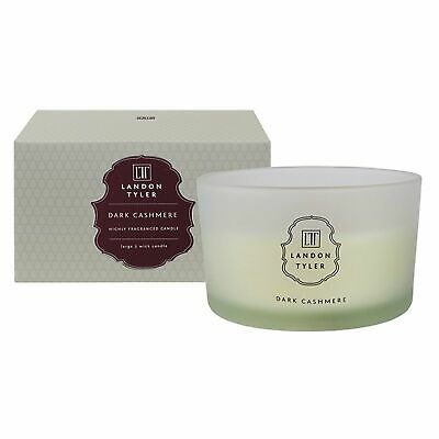 £14.39 • Buy Landon Tyler Dark Cashmere 460g 3 Wick Scented Candle