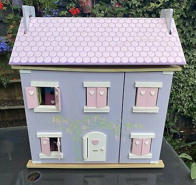 £45 • Buy ELC Wooden Dolls House Fully Furnished With Accessories, Family Etc .. Lots ❤️