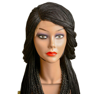 £65 • Buy Micro Twist Lace Front Braided Wig With Side Part (Right Side)