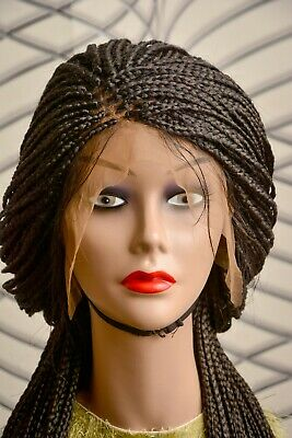 £80 • Buy Box Braids Braided Wig With Full Frontal Closure