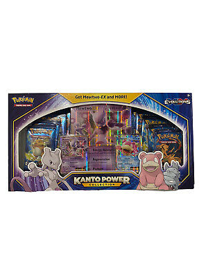 $190 • Buy Pokemon TCG Kanto Power Collection Box Mewtwo EX Evolutions Factory Sealed New