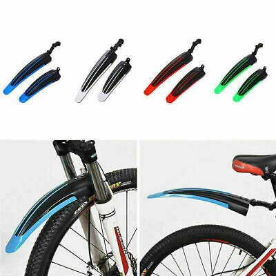 £5.41 • Buy Bicycle Cycling Front Rear Mudguards Mud Guard Set Mountain Bike Tire Fenders UK