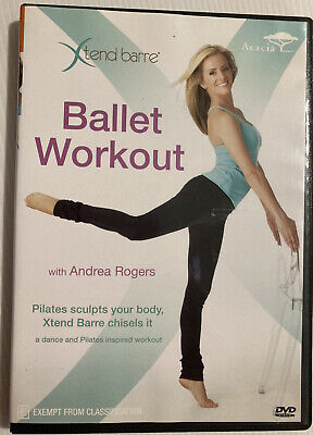 £10.06 • Buy XTend Barre: Ballet Workout With Andrea Rogers Preowned