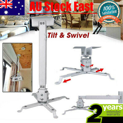 AU18.79 • Buy Universal LED Projector Ceiling Wall 4arms Bracket Mount Projector Extendable Er