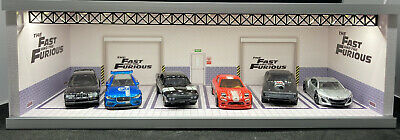 AU55 • Buy New 1:64 Fast And Furious Display Led Box With Lid (Cars Not Included)