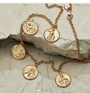 £250 • Buy AWE Inspired Greek Myth Olympus Necklace Cold Coin Pendant Aphrodite Hera