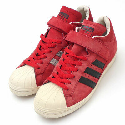 £93.08 • Buy Adidas Pro Shell G61112 University Red/Black Mens Left Right Secondhand
