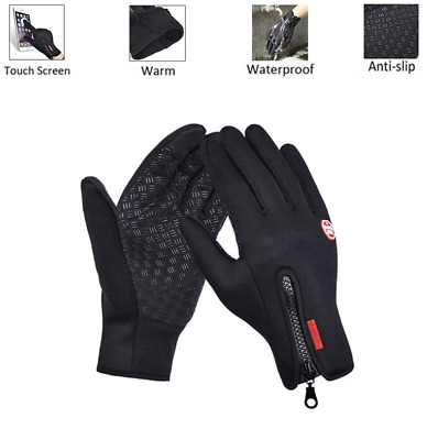 £4.95 • Buy Winter Gloves Waterproof Thermal Touch Screen Thermal Windproof Warm Gloves UK