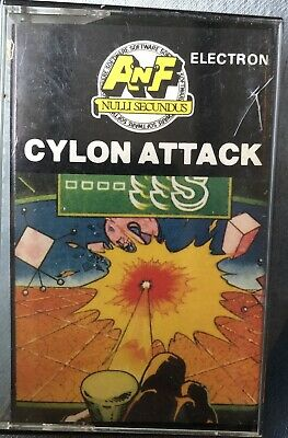 £0.99 • Buy CYLON ATTACK Acorn Electron Cassette TESTED & WORKING RARE Early Inlay