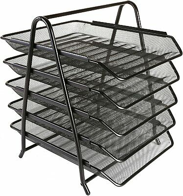 £16.95 • Buy 5 Tier Letter Tray In Mesh By Osco With Free Delivery