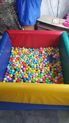 £350 • Buy Soft Play Ball Pit 6FT X 6FT COMMERCIAL USE